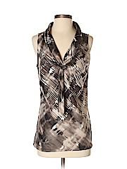 Ann Taylor Factory Women Short Sleeve Blouse Size 4