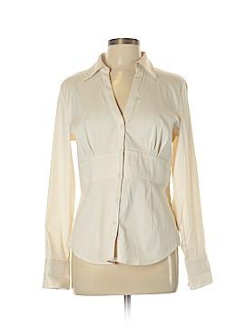 Express Design Studio Long Sleeve Button-Down Shirt Size L