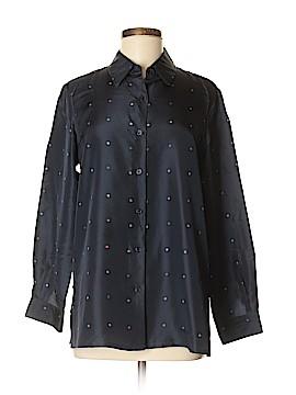 Spiegel Long Sleeve Silk Top Size M