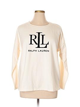 Lauren by Ralph Lauren Sweatshirt Size 1X (Plus)
