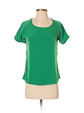 Olivia Moon Short Sleeve Blouse Size S (Petite)