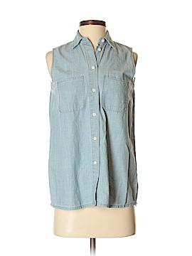 Madewell Sleeveless Button-Down Shirt Size XXS