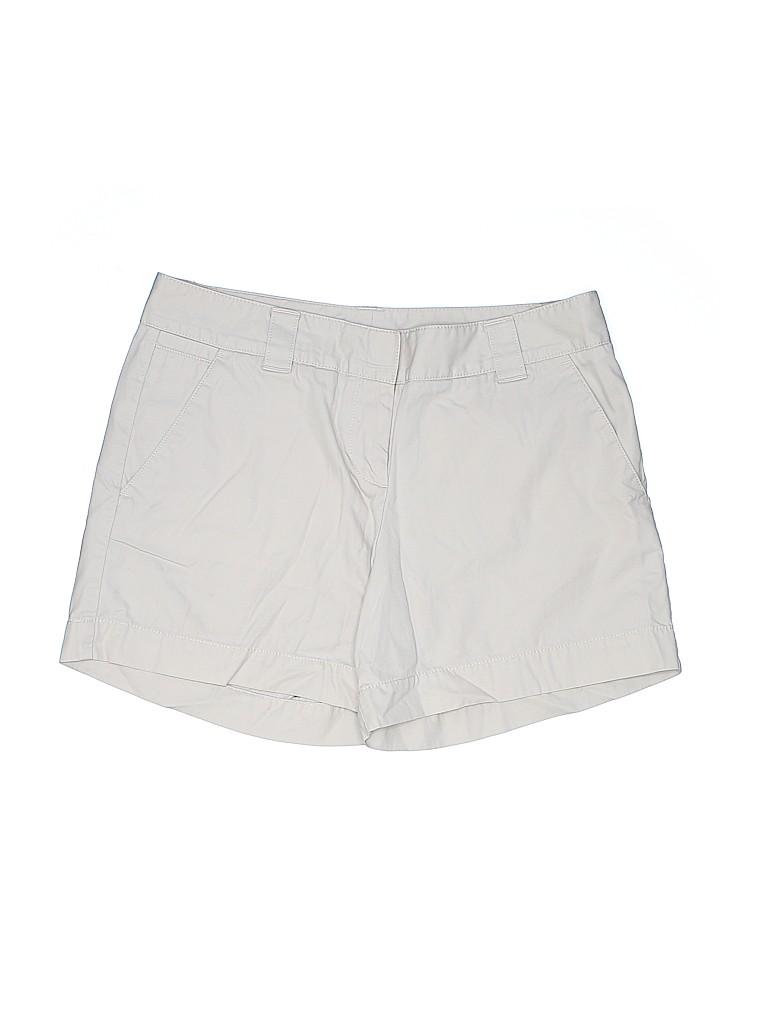 Lands' End Canvas Women Khaki Shorts Size 4