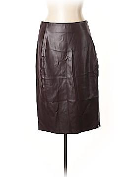 Ann Taylor LOFT Faux Leather Skirt Size 12