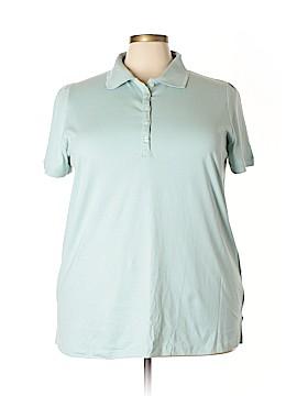 Roaman's Short Sleeve Polo Size 22 (1X) (Plus)