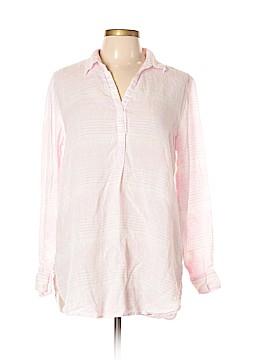 Gap Long Sleeve Button-Down Shirt Size L (Petite)