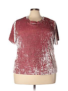 Boutique + Short Sleeve Top Size 2X (Plus)