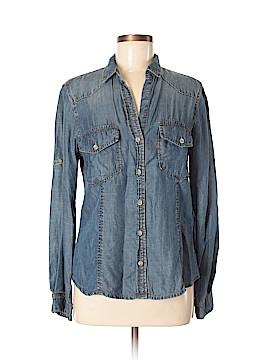 Bella Dahl Long Sleeve Button-Down Shirt Size M