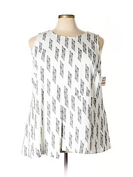 Alfani Sleeveless Blouse Size 24 (Plus)