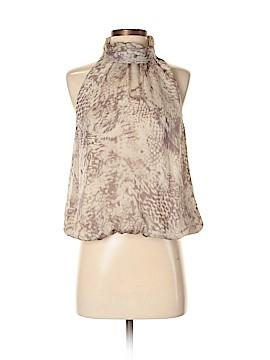 Sisley Sleeveless Silk Top Size S