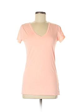 Velvet Short Sleeve T-Shirt Size L