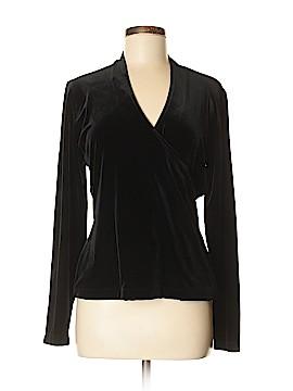 Josephine Chaus Long Sleeve Top Size M