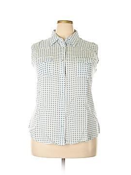 Wrangler Jeans Co Short Sleeve Blouse Size XXL