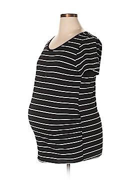 Bump Start by Motherhood Maternity Short Sleeve T-Shirt Size XL (Maternity)