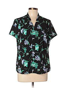 Croft & Barrow Short Sleeve Button-Down Shirt Size XL (Petite)