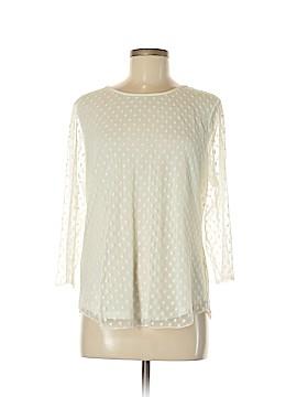 Ann Taylor 3/4 Sleeve Top Size L