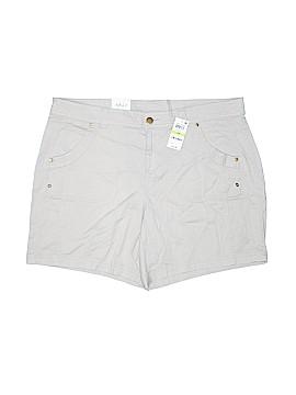 Style&Co Khaki Shorts Size 18W (Plus)