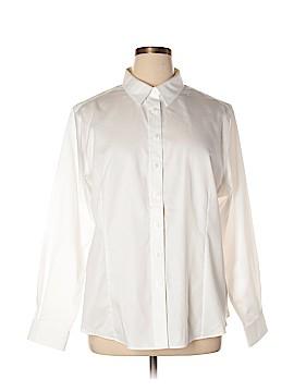 Port Authority Long Sleeve Button-Down Shirt Size XXL