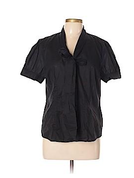 Elle Short Sleeve Button-Down Shirt Size XL