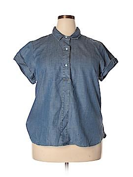 J. Crew Short Sleeve Blouse Size XXL