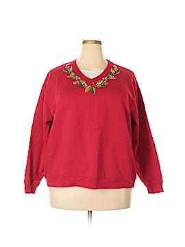 Decorated Originals Sweatshirt Size 2X (Plus)