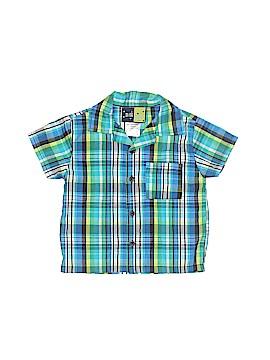 Mick Mack Ltd Short Sleeve Button-Down Shirt Size 18 mo