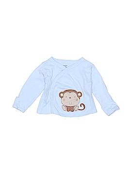 Gerber Long Sleeve Button-Down Shirt Size 0-3 mo