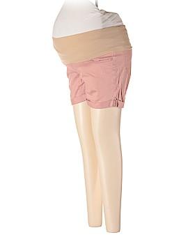 Indigo Rein Maternity Khaki Shorts Size S (Maternity)