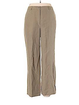 Bernard Zins Linen Pants Size 14