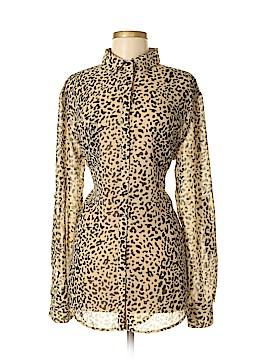 Kardashian Kollection Long Sleeve Blouse Size M