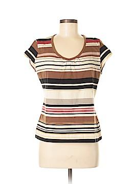 Liz & Co Short Sleeve Top Size L