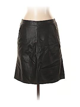 Ann Taylor LOFT Faux Leather Skirt Size 2