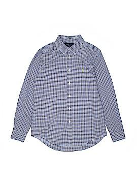 Ralph Lauren Long Sleeve Button-Down Shirt Size 14 - 16