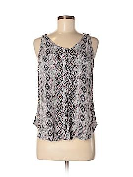 Cynthia Rowley for Marshalls Sleeveless Button-Down Shirt Size M