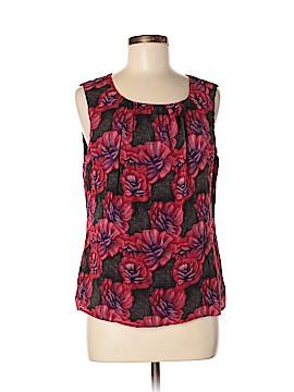 St. John Collection Sleeveless Silk Top Size 8