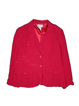 Diane Gilman Silk Blazer Size L