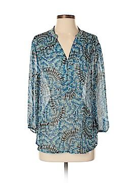 Robert Graham 3/4 Sleeve Silk Top Size S