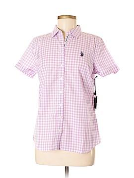 U.S. Polo Assn. Short Sleeve Button-Down Shirt Size M