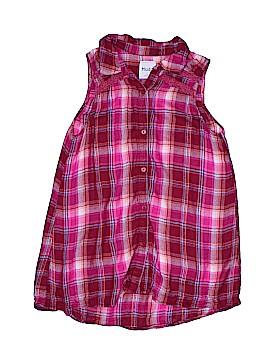 Mudd Sleeveless Button-Down Shirt Size 16