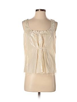 Oscar De La Renta Sleeveless Silk Top Size 6