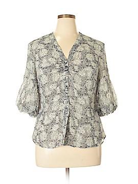 Jones New York Collection 3/4 Sleeve Blouse Size 16