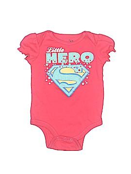 Super Girl Short Sleeve Onesie Size 6-9 mo
