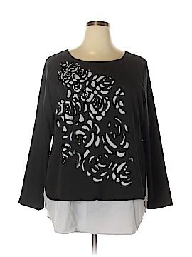 Fashion Classics Long Sleeve Blouse Size 4X (Plus)