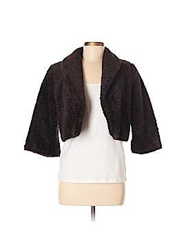 Bigio Collection Faux Fur Jacket Size 6