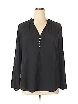 New York & Company Long Sleeve Blouse Size XL