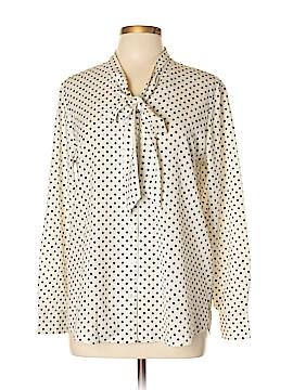 Dalia Long Sleeve Blouse Size L