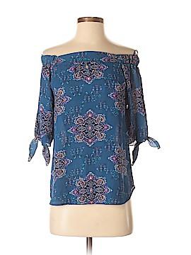 Renee C. Short Sleeve Button-Down Shirt Size XS