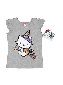 Hello Kitty Short Sleeve Top Size 5T