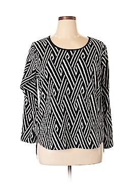 Sunny Leigh Long Sleeve Top Size XL