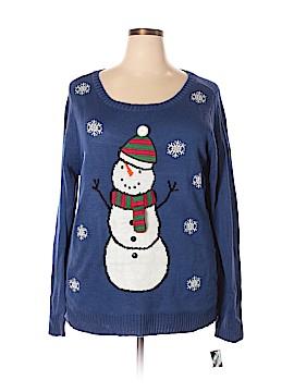 Karen Scott Pullover Sweater Size 2X (Plus)